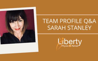Team Profile Q&A: Sarah Stanley